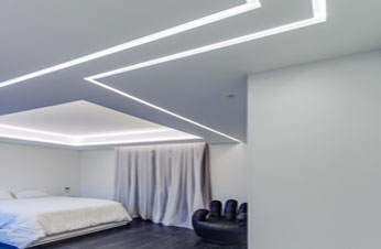 light lines benny tevet hidden lighting plasterboard profiles