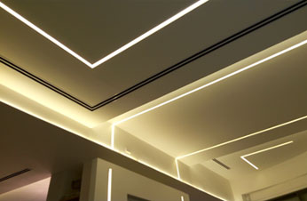 home light lines benny tevet hidden lighting plasterboard profiles