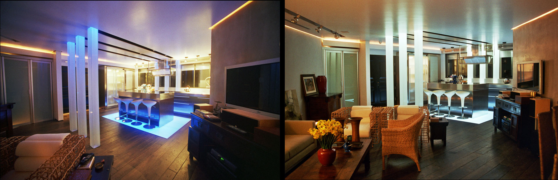 benny tevet light lines design with lighting hidden תאורה נסתרת dor confino architect sea sun 2