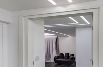 plasterboard profiles hidden lighting benny tevet light lines